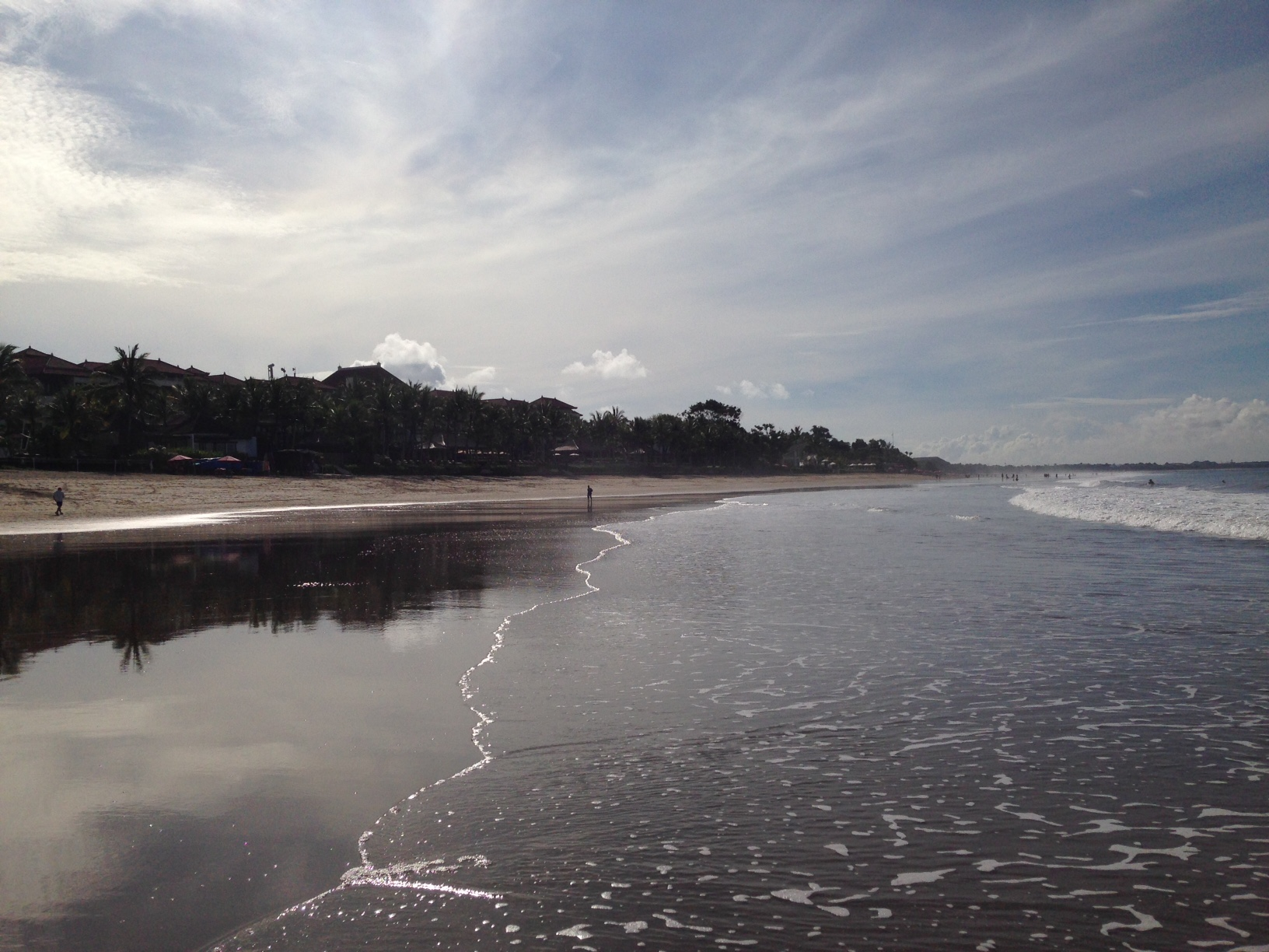 Seminyak Beach: working up a sweat with an 8am walk