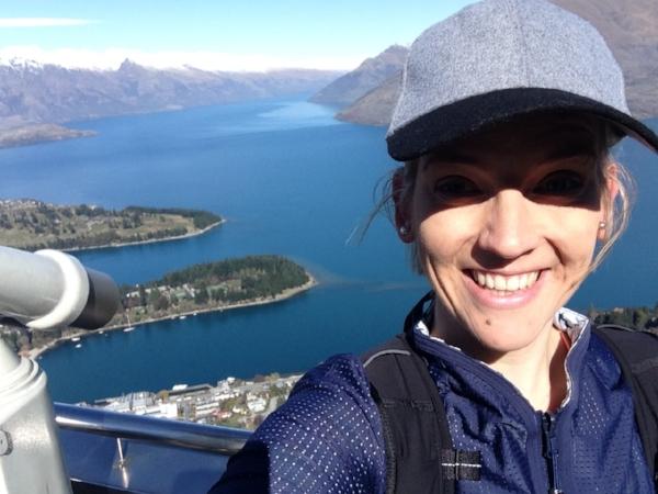 Tiki Trail: the reward when you reach the summit of Bob's Peak!