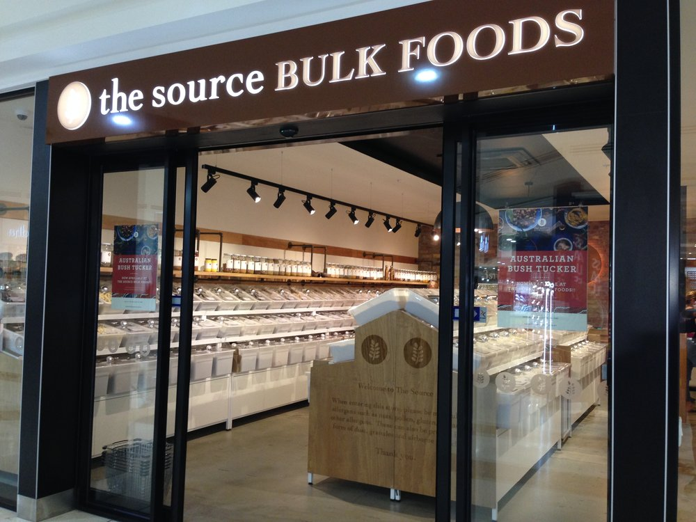 The Source Bulk Foods: a warm and welcoming interior at its Victoria Park store.