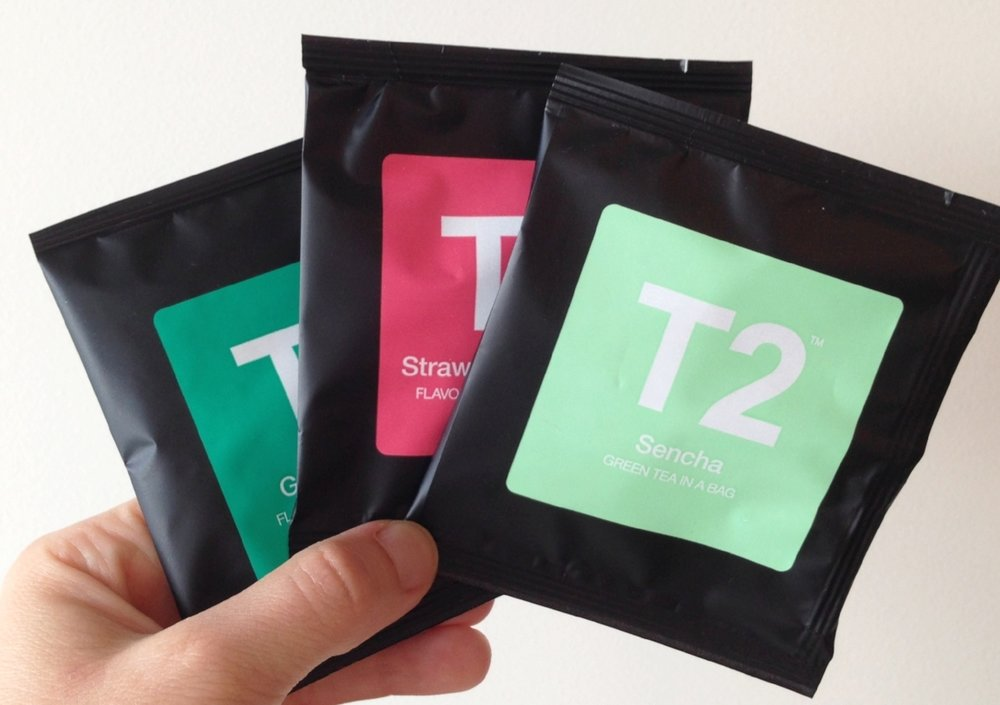 Herbal & green teas: these individually-wrapped tea bags from T2 are my favourite for travelling.