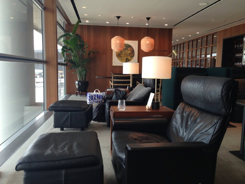 Lounge area: when you just want to sit and have some solo time.