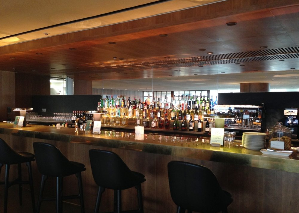 The Pier Bar: if only my liquor cabinet at home was stocked this well!