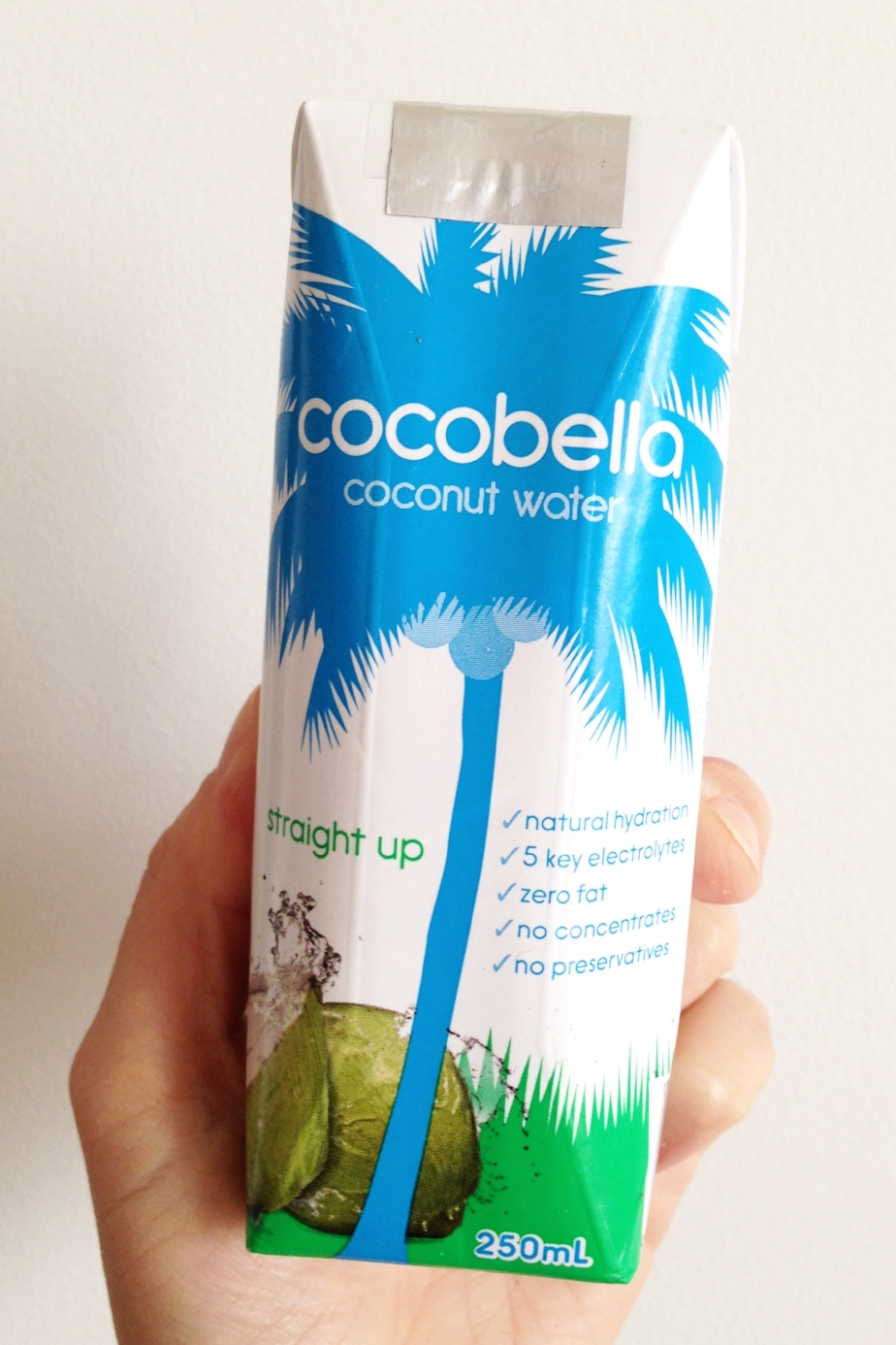 Coconut water: one of my favourite post-workout rewards.