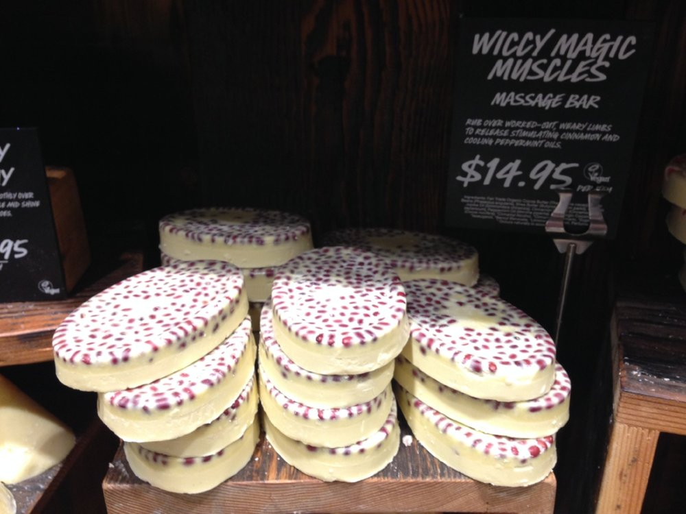 Lush Cosmetics massage bars: affordable, natural and they smell amazing!