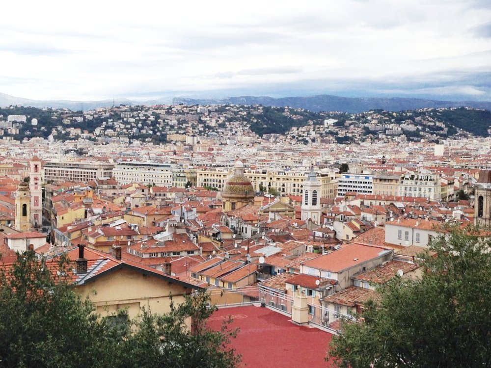 Castle Hill: offering spectacular views across the city to the mountains.