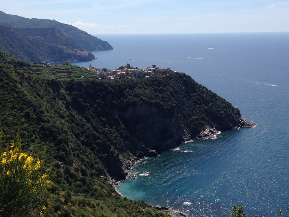 Corniglia: the only hilltop village in Cinque Terre.