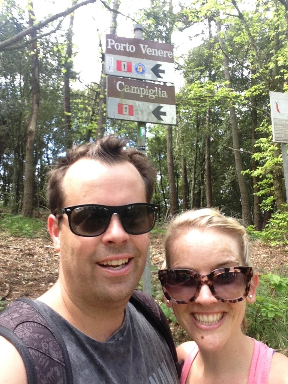 Around Pass de Telegrafo: we were on track!