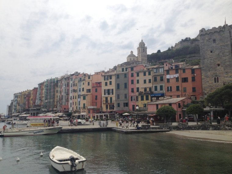 Portovenere: the waterfront area with plenty of outdoor dining and shopping options.
