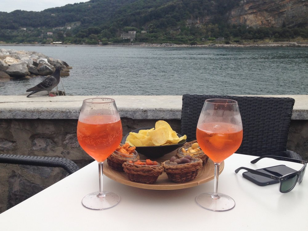 Portovenere: not my usual post-workout recovery!