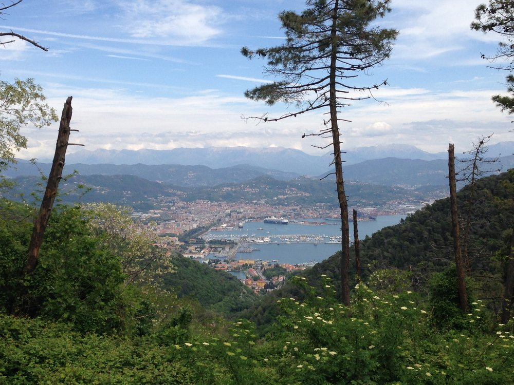 La Spezia: the biggest town we'd seen during our four day stay in Cinque Terre.
