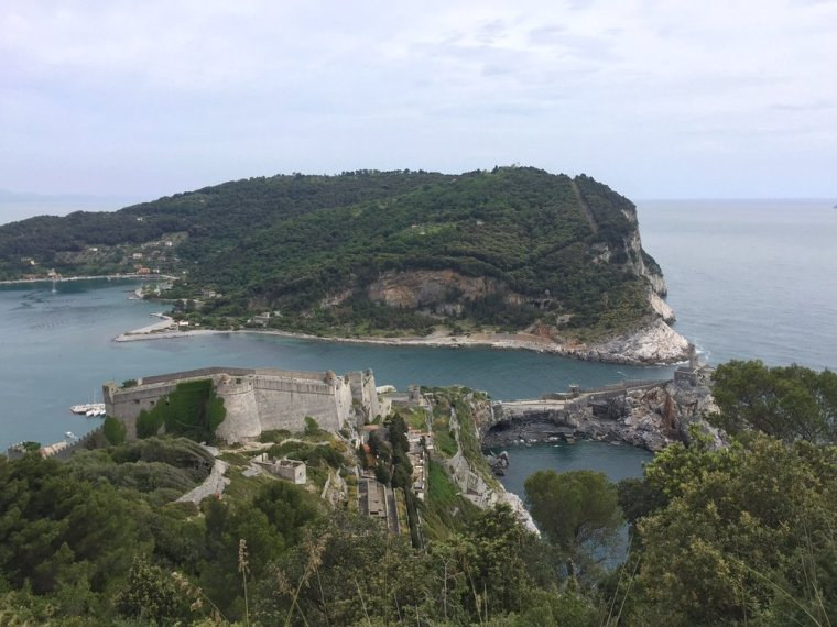 Portovenere: I didn't expect to see a castle in Italy!