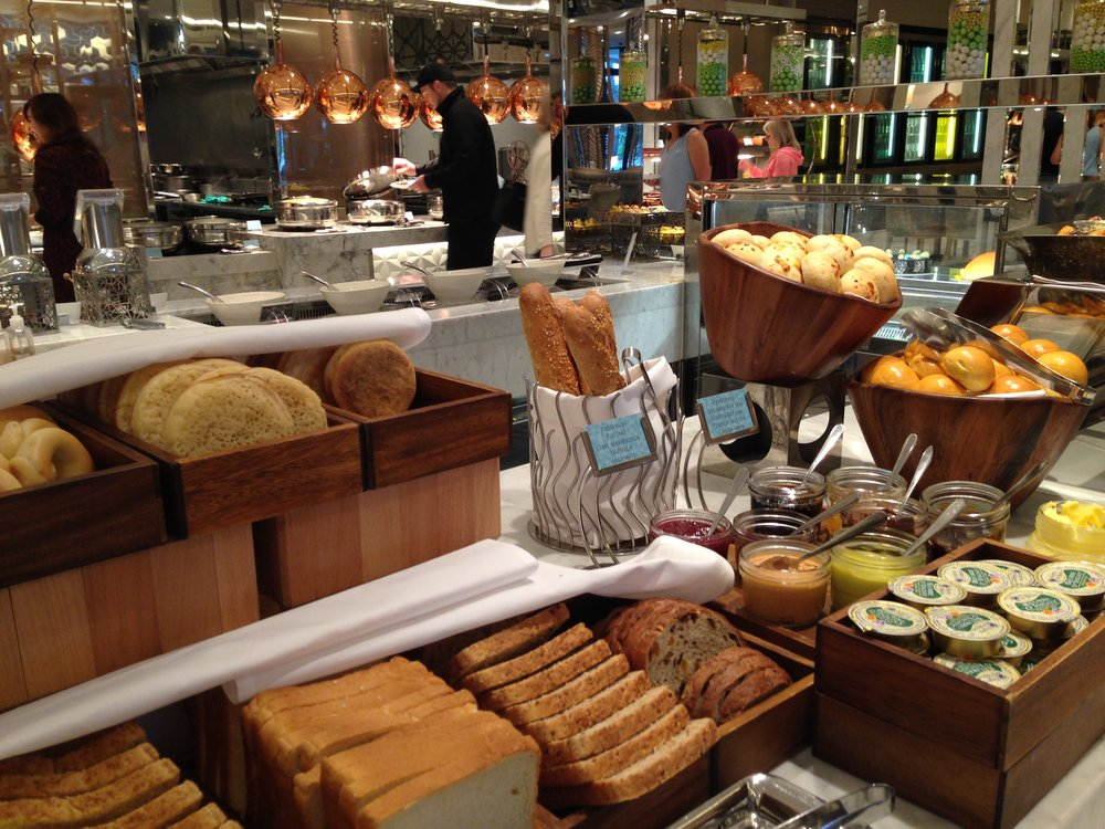 Epicurean: you'd need to stay a week to sample all the breads and pastries!