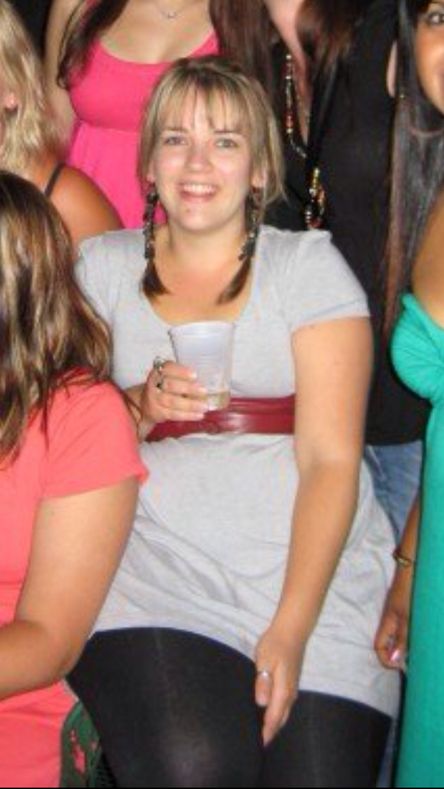 2007: I'd lost some weight but still loved partying.