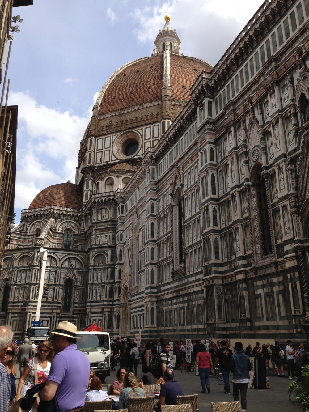 The Duomo: a grand, imposing cathedral in the city centre.