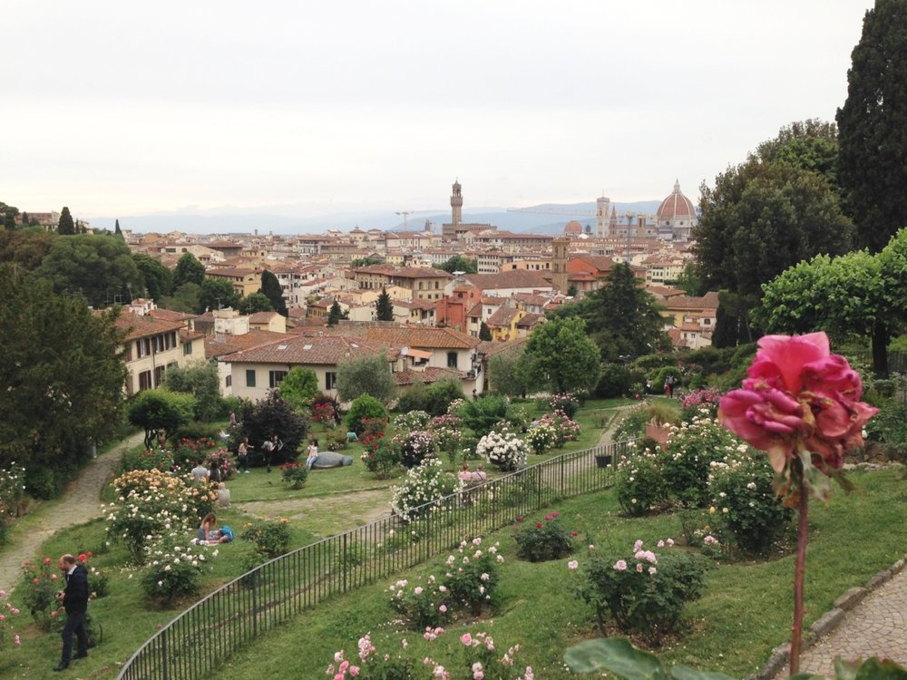 Giardino delle Rose: this small garden is worth a stop when visiting nearby Piazza Michelangelo (free entry).