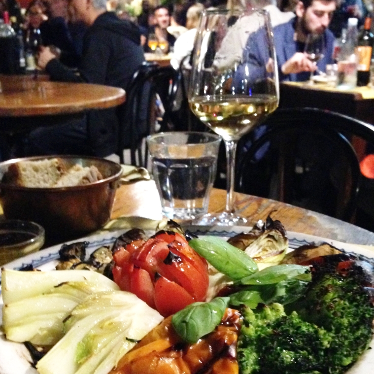 Borgo Antico: delicious food and perfect for people watching.