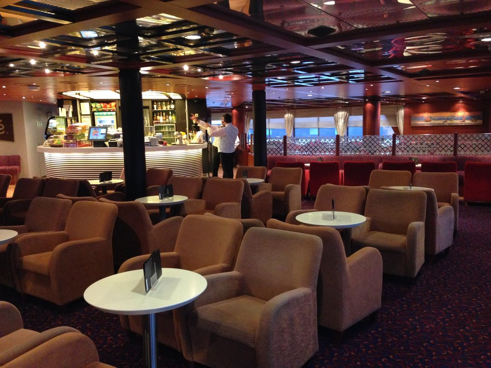 Blue Star 2: the business lounge exceeded all my expectations for a domestic ferry