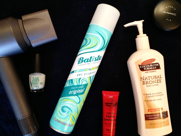 Beauty essentials: basic but they'll save you time and possibly cash too