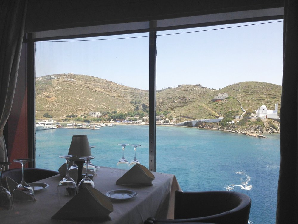 Restaurant: the ferry dining options exceeded expectations!