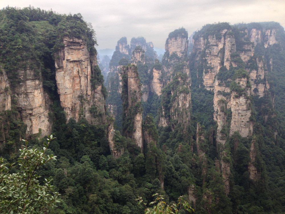 Zhangjiajie National Park: I saw these mountains in a catalogue and knew I had to visit.