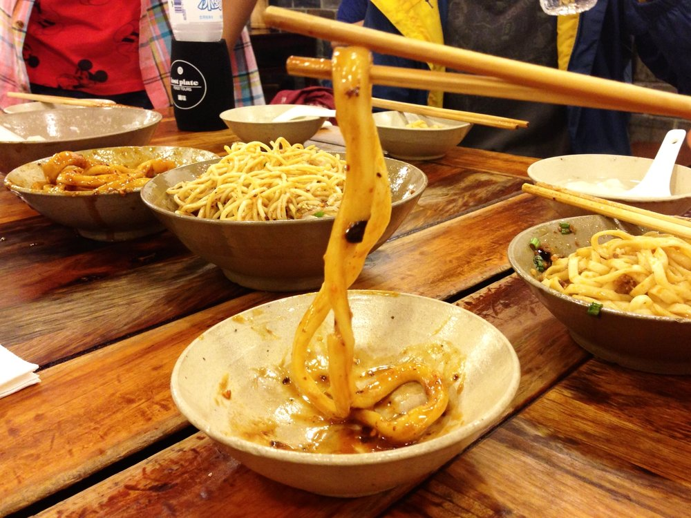 Chengdu, Sichuan: I wanted to eat as much local cuisine as I could!