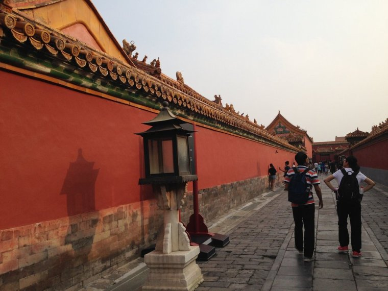 Forbidden City: it's truly like stepping back in time